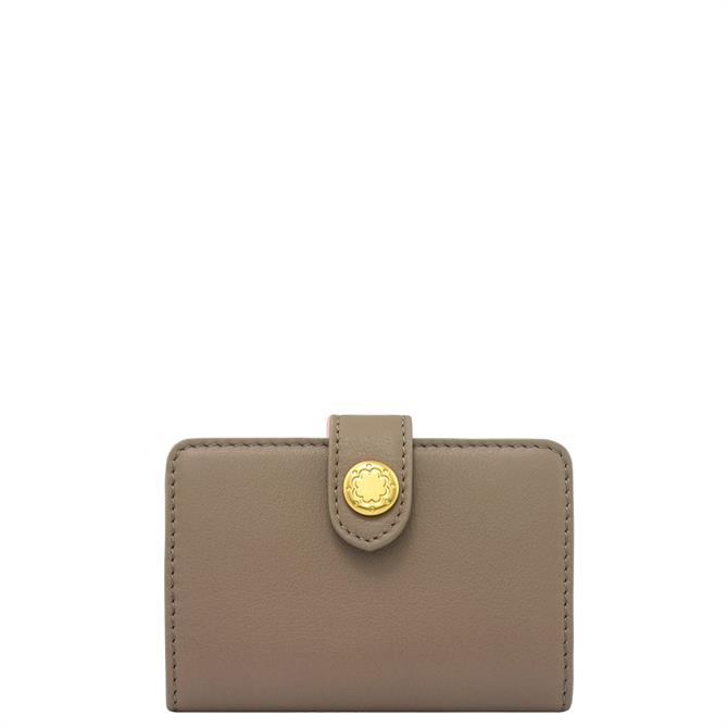 Cath Kidston Taupe Leather Card Holder