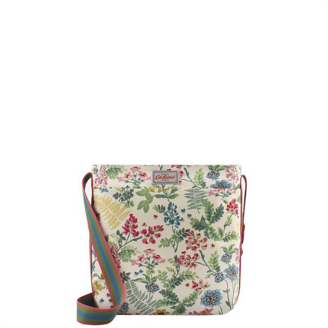 Cath Kidston Twilight Gardens Cream Zipped Messenger Bag