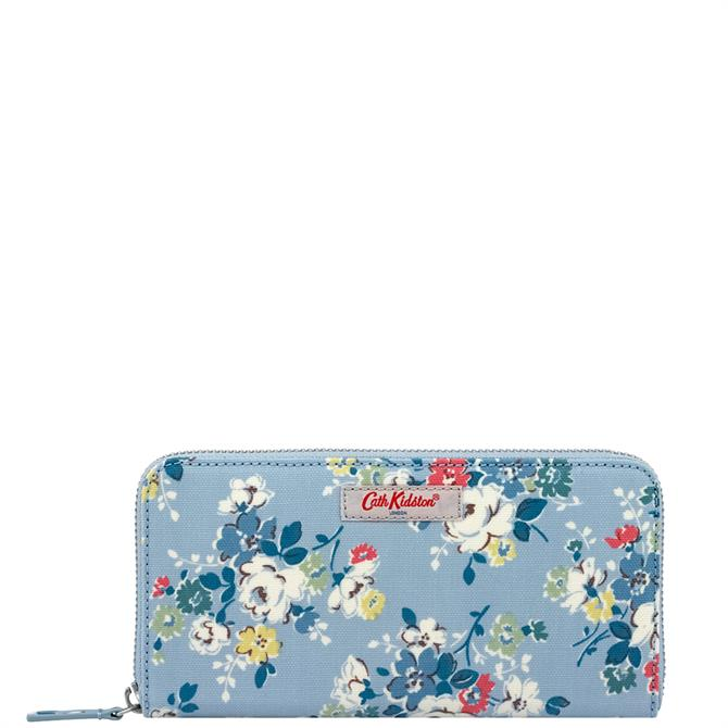 Cath Kidston Clifton Rose Continental Zip Wallet