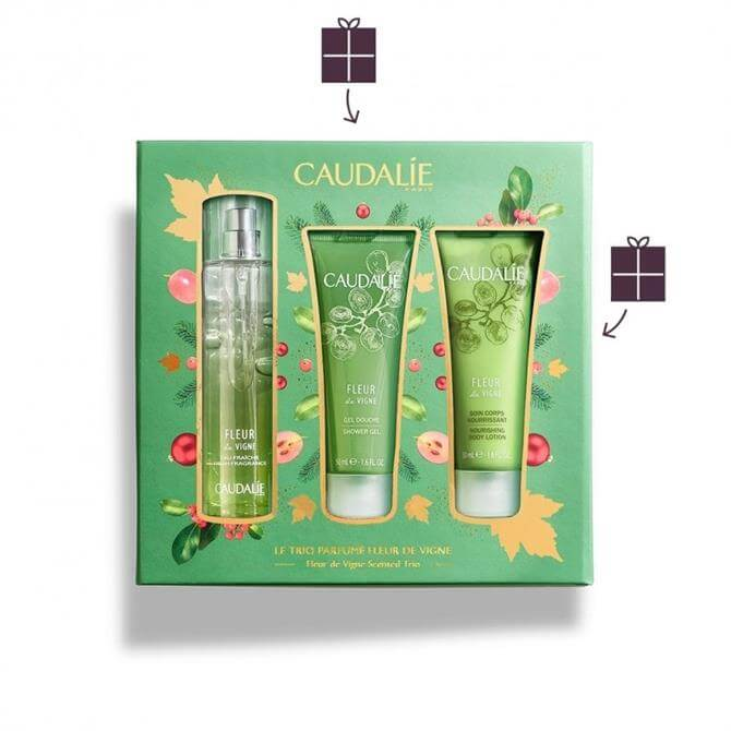 Caudalie Fleur De Vigne Fragrance And Body Gift Set