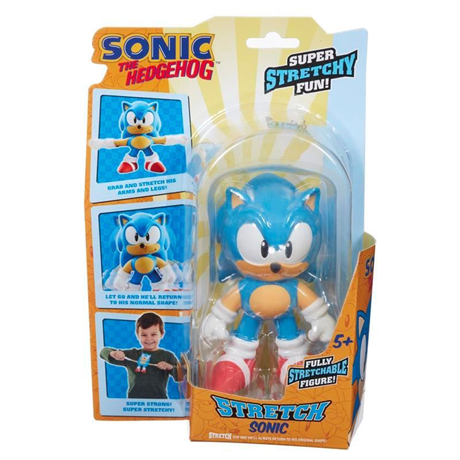 Character Options Mini Stretch Sonic Toy