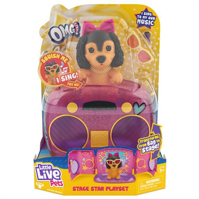 Little Live Pets OMG Pets Have Talent Playset