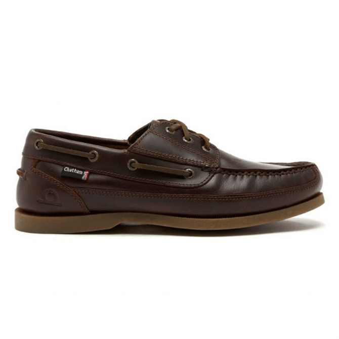 Chatham Rockwell Leather Boat Shoe