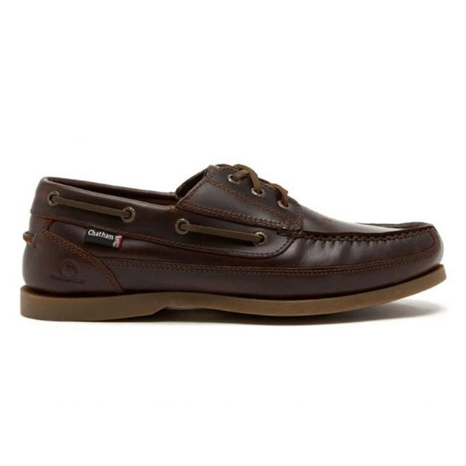 Chatham Rockwell Leather Boat Shoe