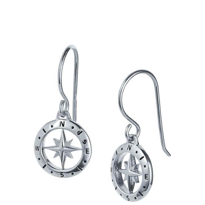 Christin Ranger Love's Compass Silver Earring