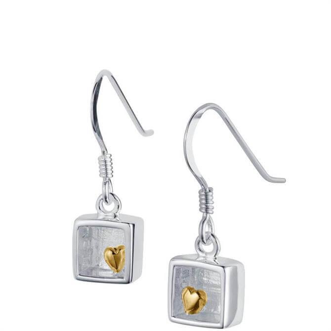 Christin Ranger Heart of Gold Drop Earring