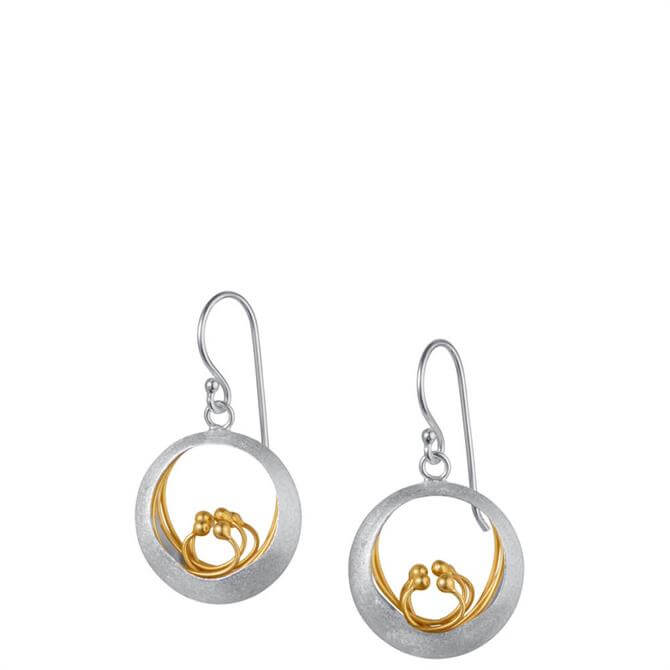 Christin Ranger Little Feature Silver & Gold Earrings