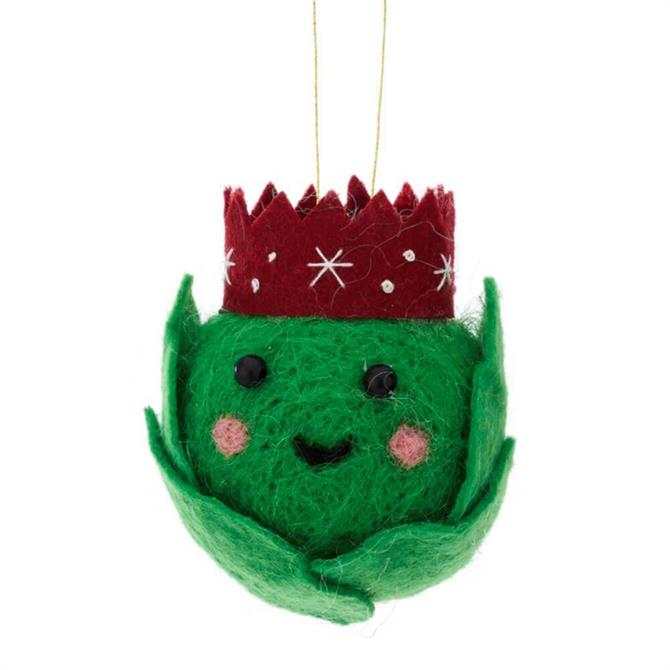 Sass & Belle Brusel Sprout Hanging Decoration