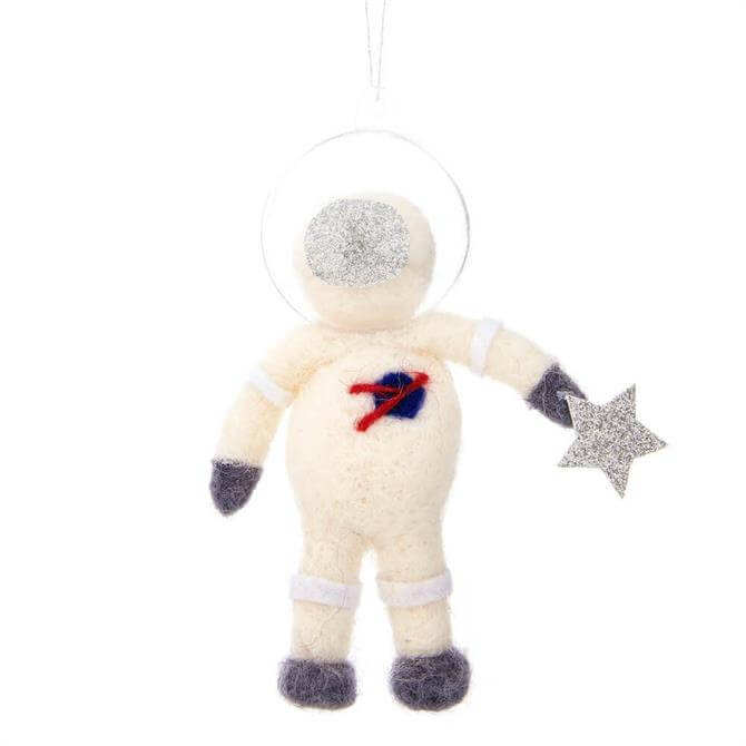 Sass & Belle Outer Space Astronaut Hanging Felt Decoration