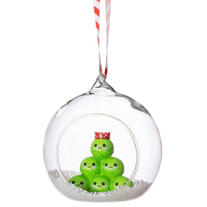 Sass & Belle Brussels Sprouts Figurine Bauble