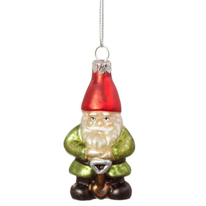 Sass & Belle Garden Gnome Shaped Bauble