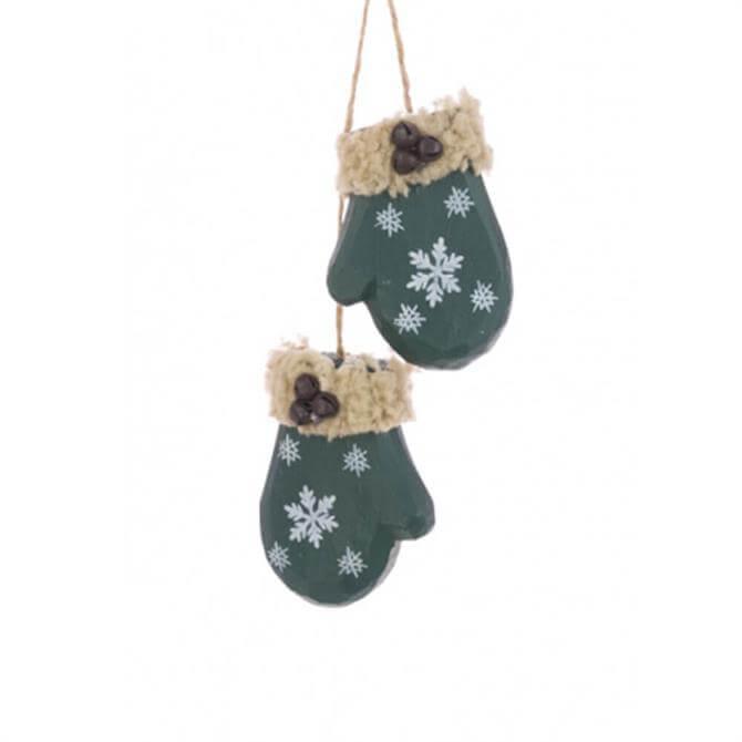 Floralsilk Rustic Mittens Hanger