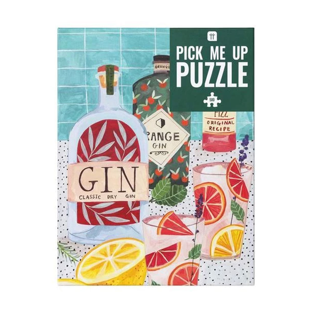 An image of Pick Me Up Jigsaw Puzzle Gin