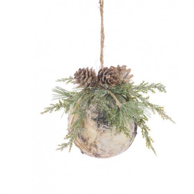 Floralsilk Scandi Pinecone Bauble