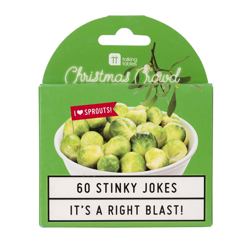 An image of Christmas Entertainment Sprout Jokes
