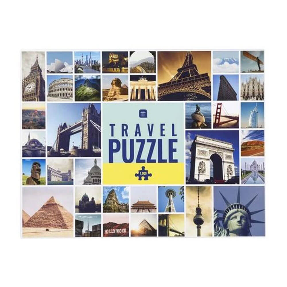 An image of Worldly Wise Landmark Jigsaw Puzzle