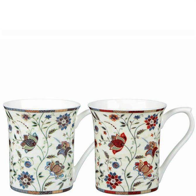 Churchill Classic Queens Indian Silk Assorted Royale Mug