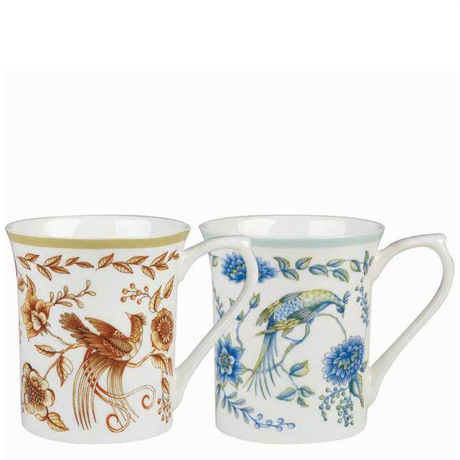 Churchill Classic Queens Peacock Assorted Royale Mug