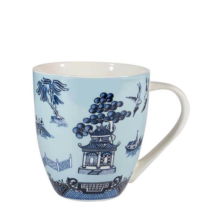 Churchill Blue Willow Blue Crush Mug