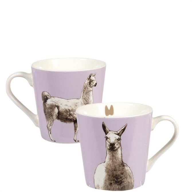 Churchill The Kingdom Llama Mug