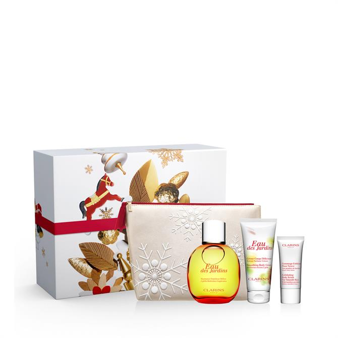 Clarins Eau des Jardins Collection Gift Set