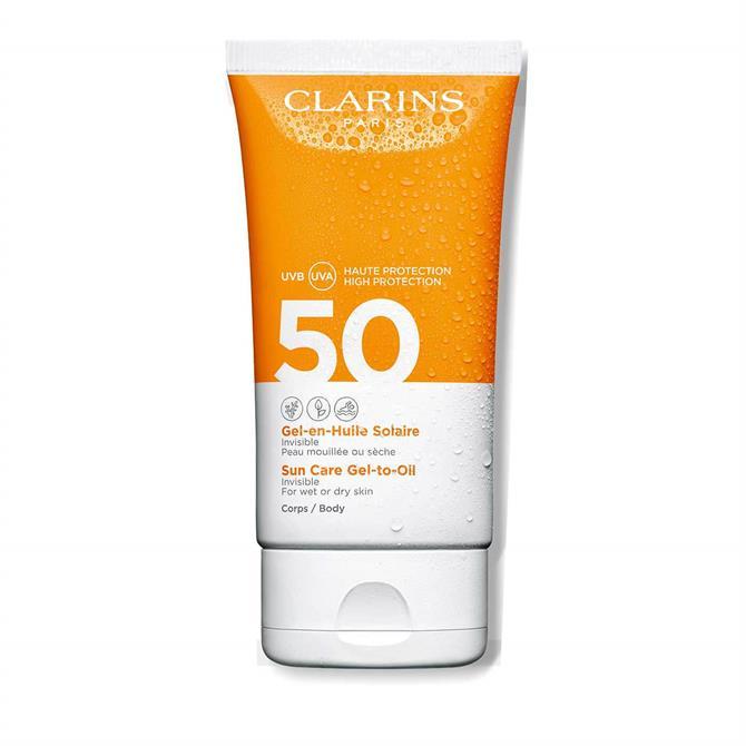 Clarins Sun Care Gel-to-Oil SPF50 150ml