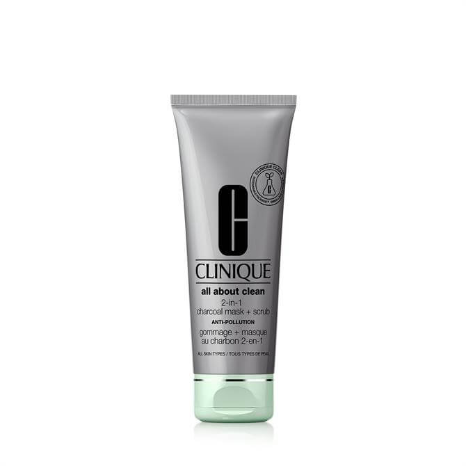 Clinique All About Clean 2-in-1 Charcoal Mask + Scrub 100ml