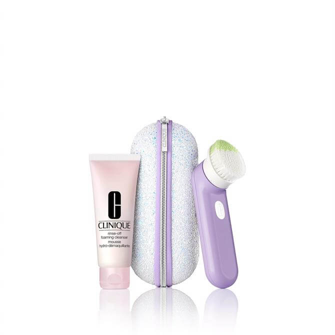 Clinique Glow To Go Sonic Clean Gift Set