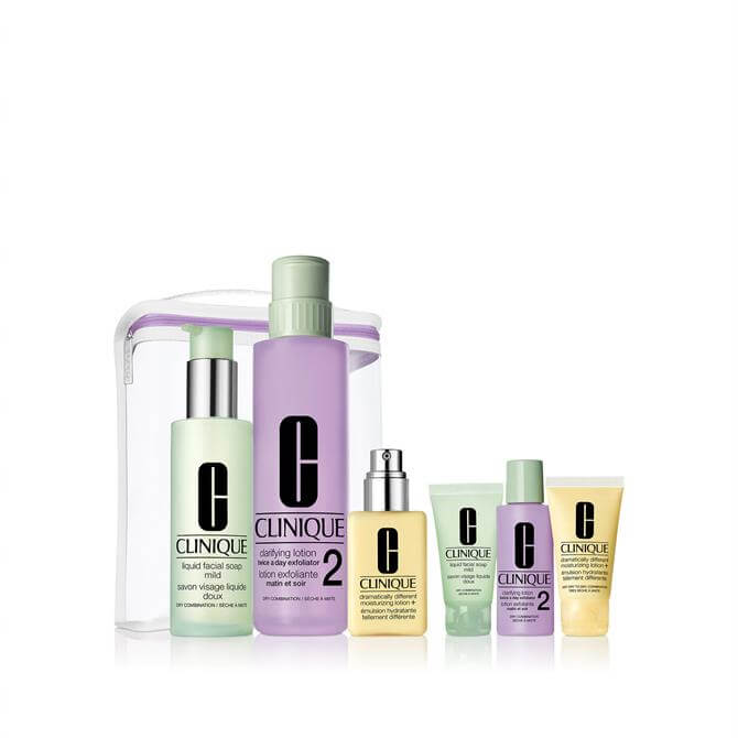 Clinique Great Skin Anywhere Christmas Gift Set- Very Dry to Dry Skin