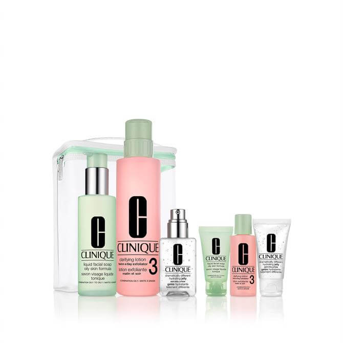 Clinique Great Skin Anywhere Christmas Gift Set- Normal, Combination, Oily Skin