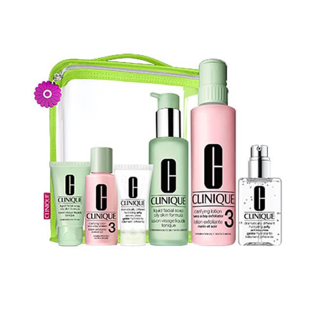 Clinique Great Skin Everywhere 3-Step Set For Normal to Oily Skin