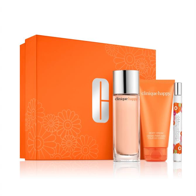 Clinique Perfectly Happy Fragrance & Body Valentine's Set
