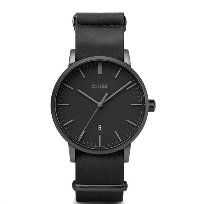 Cluse Aravis Black/Black Mens Watch