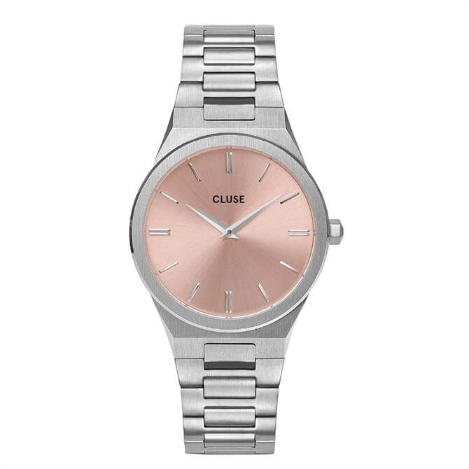 Cluse Vigoureux Silver Watch by Katharina