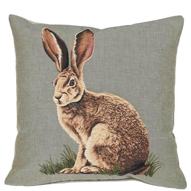 Coach House Hare Cushion