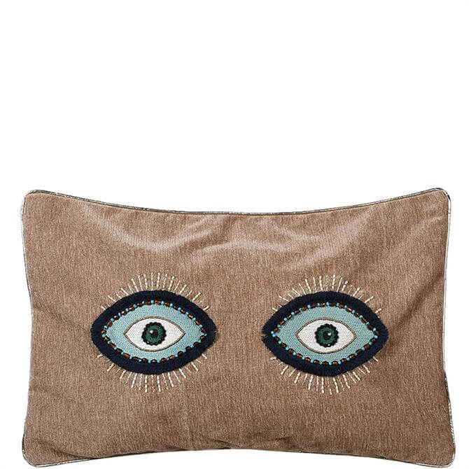 Coach House Evil Eye Cushion