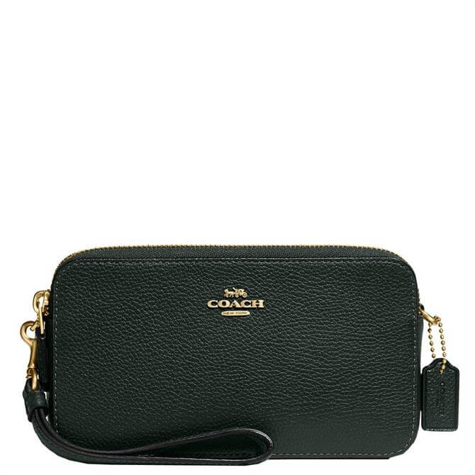 Coach Pebbled Leather Kira Crossbody Bag
