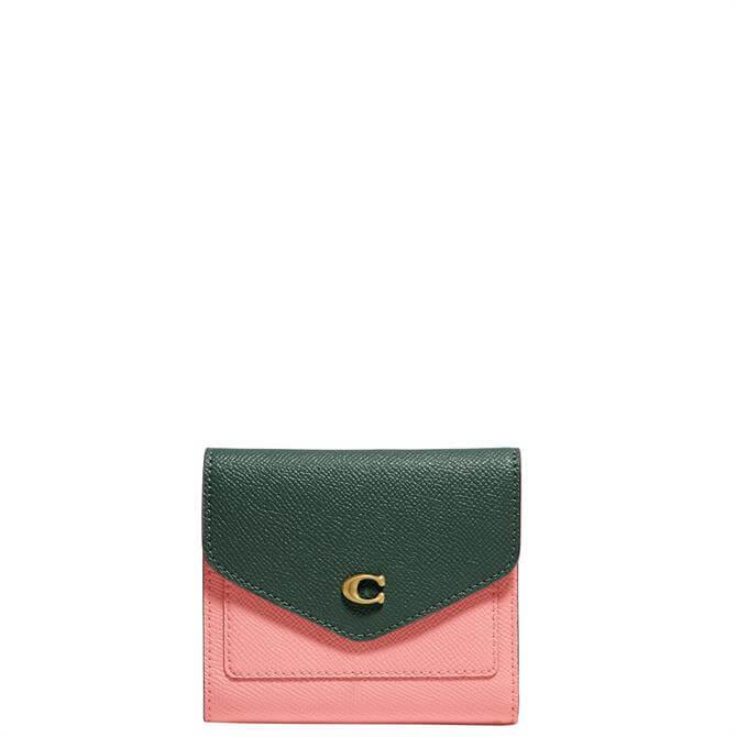 Coach Wyn Small Wallet in Colourblock
