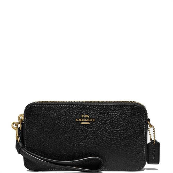 Coach Pebbled Leather Kira Crossbody Bag