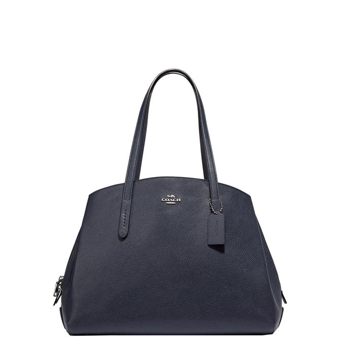 Coach Navy Charlie Carryall 40 Bag