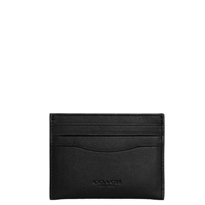 Coach Dark Gunmetal/Black Card Case