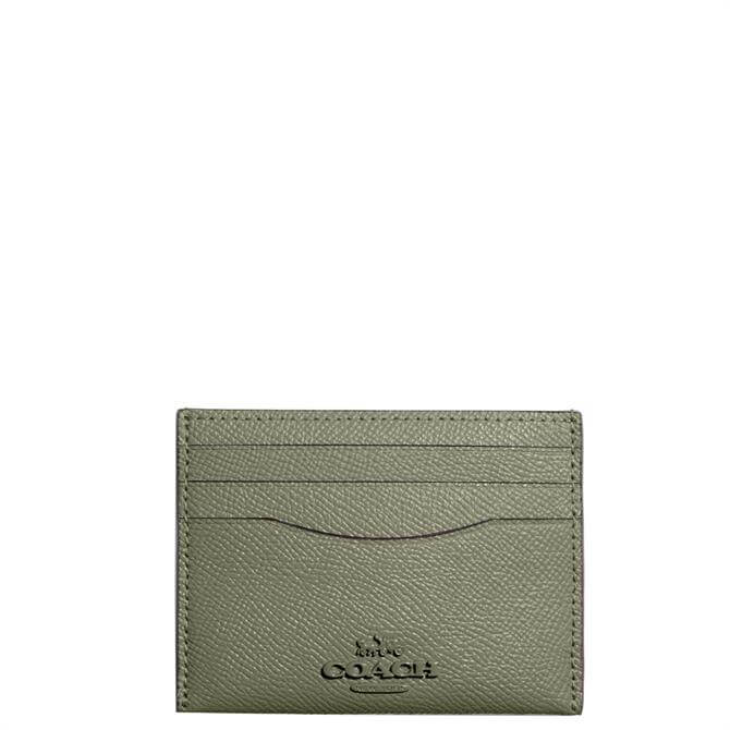 Coach Light Fern Card Case