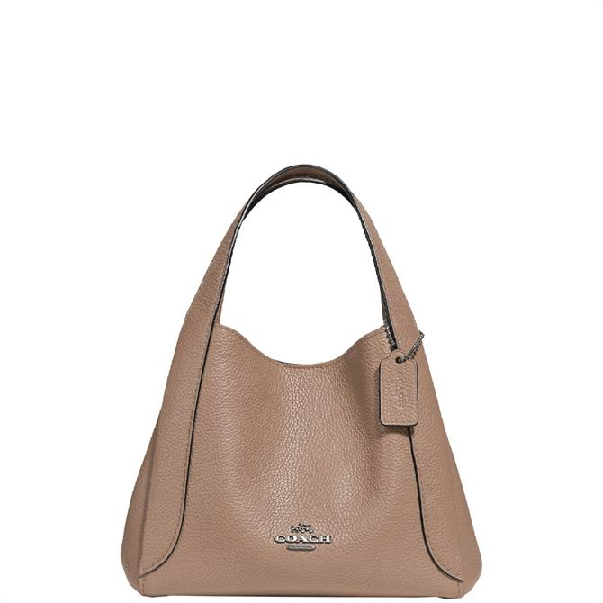 Coach Hadley Taupe Hobo 21 Bag