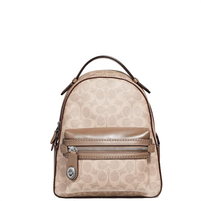 Coach Signature Canvas Campus Backpack 23