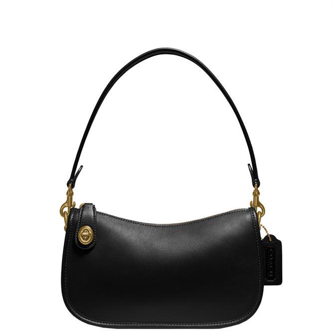 Coach Black Swinger Bag