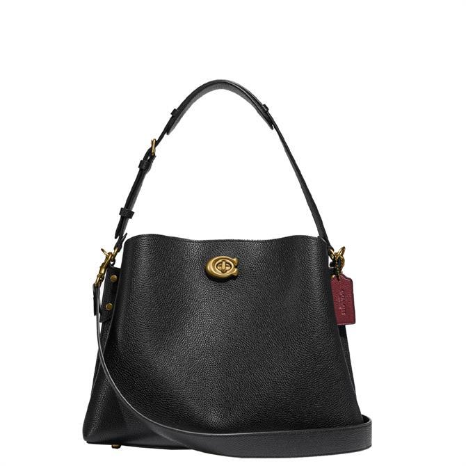 Coach Willow Black Shoulder Bag