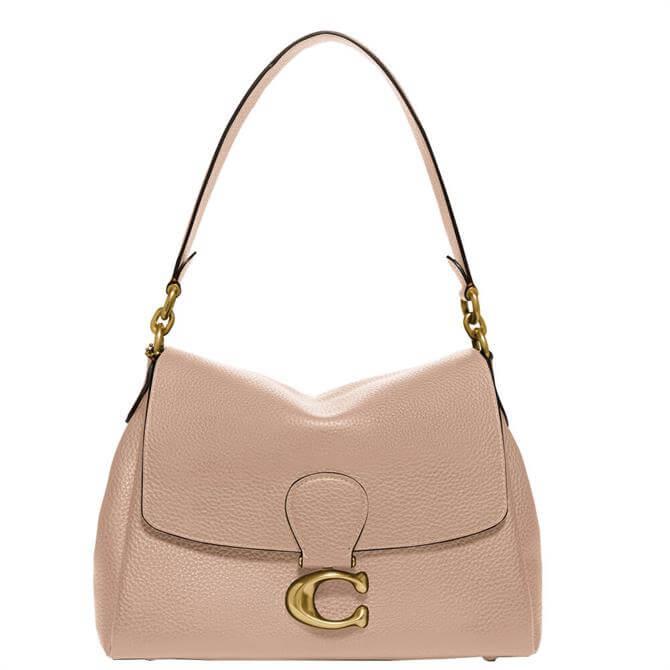 Coach May Taupe Shoulder Bag