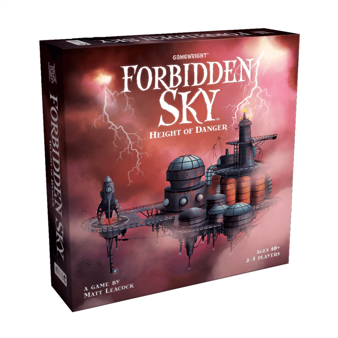 Forbidden Sky - Height of Danger Board Game