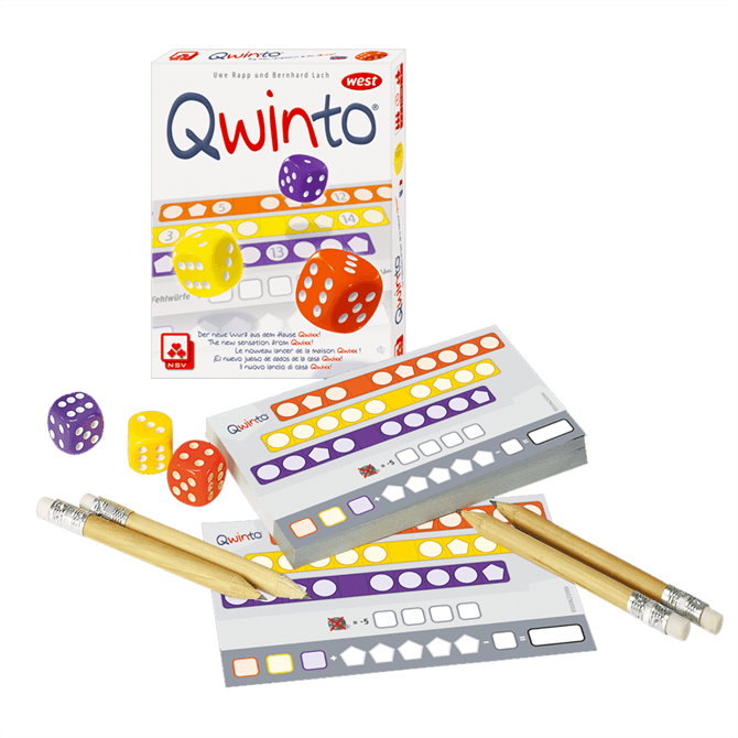Qwinto Dice Strategy Game