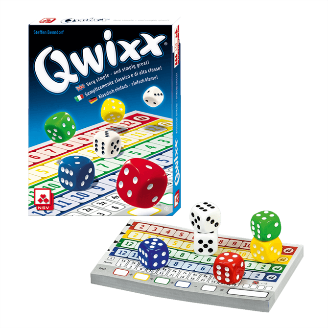 Qwixx Dice Strategy Game